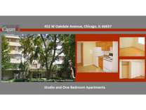 Studio - Cagan Lakeview and Lincoln Park Chicago Apartments