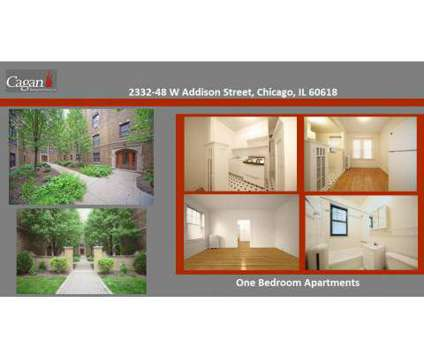 Studio - Cagan Lakeview and Lincoln Park Chicago Apartments at 452 W Aldine Avenue in Chicago IL is a Apartment