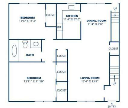 2 Beds - Tivoli Gardens at 1100 Parsippany Boulevard Apartment 227 in Parsippany NJ is a Apartment