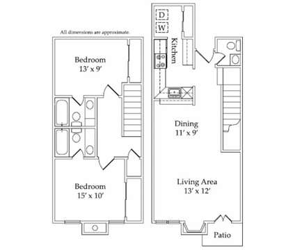 2 Beds - Arts at Broadway Commons at 802 Broadway Commons in Garland TX is a Apartment