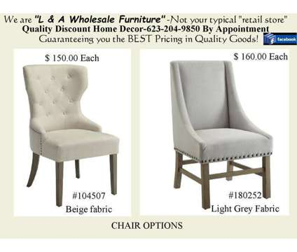 """54"""" Round Pedestal Table & chairs is a Tables & Stands for Sale in Glendale AZ"""
