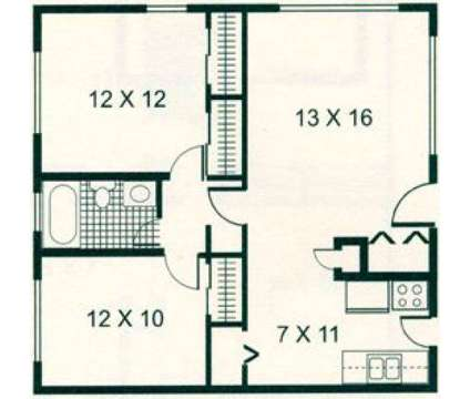 2 Beds - Eagle Pointe at 3131 University Boulevard North in Jacksonville FL is a Apartment