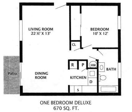 1 Bed - Knoll West at 2130 Sw Camelot Court in Portland OR is a Apartment