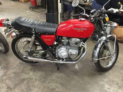 1976 Honda SS