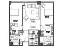 2 Beds - The Victor Lofts