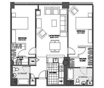 2 Beds - The Victor Lofts at One Market St in Camden NJ is a Apartment