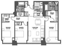 3 Beds - The Victor Lofts
