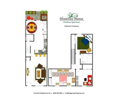 3 Beds - Hermitage Manor at 2575 Waldo Ln in Henrico VA is a Apartment