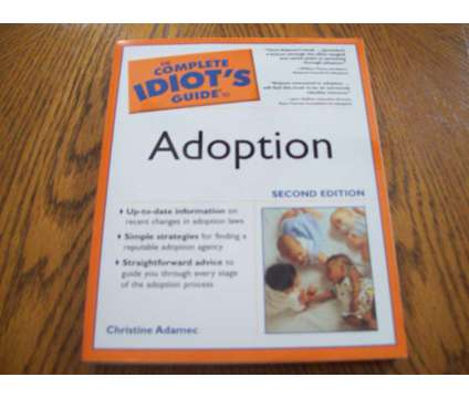Complete Idiot.S Guide to Adoption is a Manuals for Sale in Wescosville PA