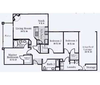 3 Beds - Horizons at South Meadows at 9350 Double R Blvd in Reno NV is a Apartment