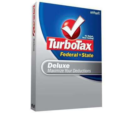 Turbo Tax Deluxe - 2008 is a Computer Softwares for Sale in Thousand Oaks CA