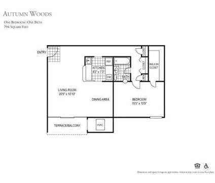 1 Bed - Autumn Woods at 5033 57th Avenue in Bladensburg MD is a Apartment