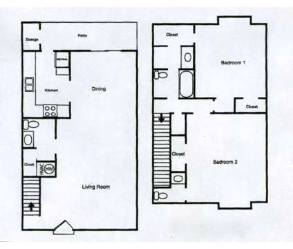 2 Beds - Camelot Townhouses & Apartments at 4001 Old Warren Rd in Pine Bluff AR is a Apartment