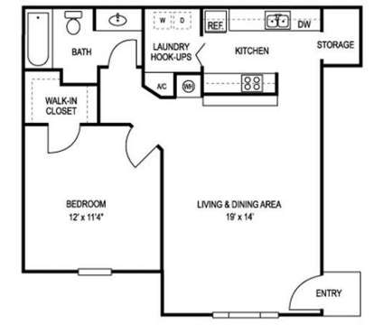 1 Bed - Stoddert Place Apartments at 150 Tiger Lilly Dr in Pensacola FL is a Apartment