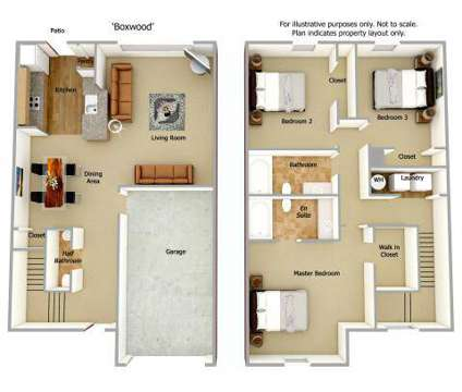 3 Beds - Monticello At Town Center at 100 Monticello Mews in Hampton VA is a Apartment