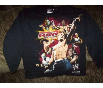 Boy's WWE Wrestling Shirts is a Black Other Clothings for Sale in Wescosville PA