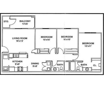 3 Beds - Village Crossing at 20 Village Crossing Dr South in Greenwood IN is a Apartment