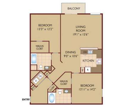 2 Beds - Casa Mira View at 9800 Mira Lee Way in San Diego CA is a Apartment
