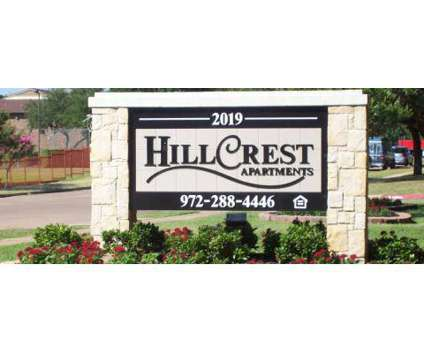 1 Bed - Hillcrest Apartments at 2019 Hillcrest St in Mesquite TX is a Apartment