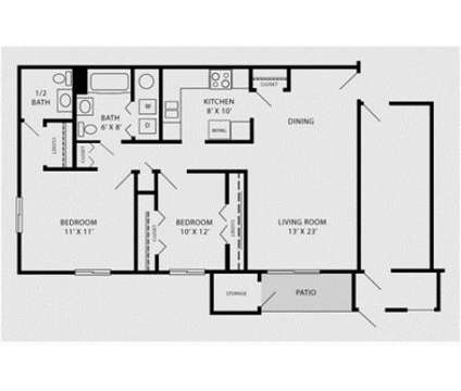 2 Beds - Heather Downs Apartments at 1815 Brittany Place in Madison WI is a Apartment