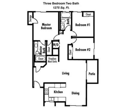 3 Beds - Bellevue Apartments at 6551 Annie Oakley Dr in Henderson NV is a Apartment
