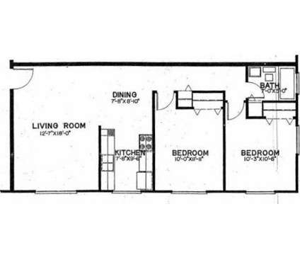 2 Beds - Huntington Circle Apartments at G 4606 Beecher Rd in Flint MI is a Apartment