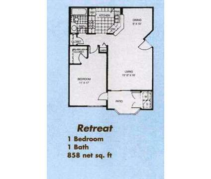 1 Bed - Dakota At Camelback, The at 2025 East Campbell Ave in Phoenix AZ is a Apartment