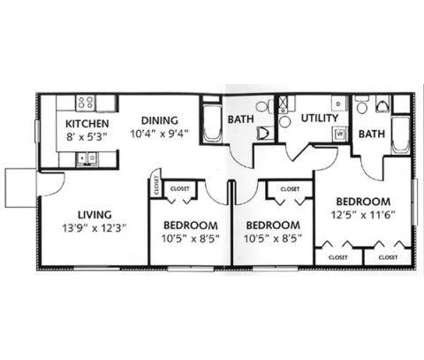 3 Beds - South Pointe Townhomes at 6032 South Pointe Drive in Burlington KY is a Apartment