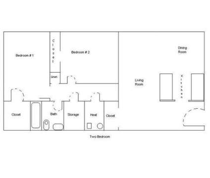 2 Beds - Brookline Gardens at 1348 Brookline Rd #a101 in Cleveland Heights OH is a Apartment