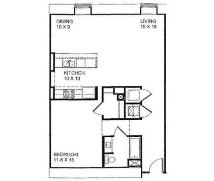 1 Bed - The Washburn and Cabinet Shop at 60 South Main St in Memphis TN is a Apartment