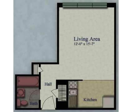 Studio - Royal Plaza at 1725 N Prospect Avenue in Milwaukee WI is a Apartment