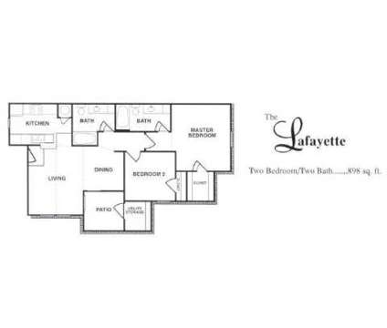 2 Beds - Chateaux Normandie at 333 Normandy in Houston TX is a Apartment