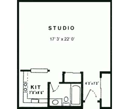 Studio - Kingswood Park Village at 180 Main St in Bridgewater MA is a Apartment