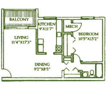 1 Bed - Walden Pond at 1400-a Weeping Willow Dr in Lynchburg VA is a Apartment