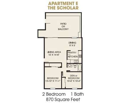 2 Beds - College Courts of Nora Apartments at 9301 Yale Dr in Indianapolis IN is a Apartment