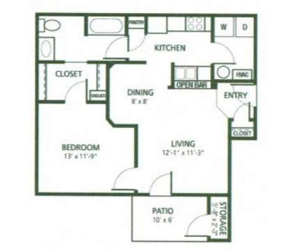 1 Bed - Autumn Chase at 3717 Piermont Dr in Indianapolis IN is a Apartment