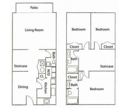 3 Beds - View 75 at 1035 Franklin Road in Marietta GA is a Apartment
