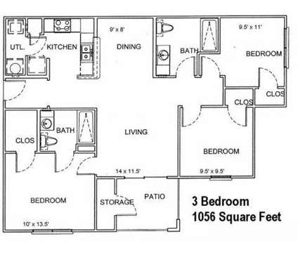 3 Beds - Plum Creek Apartments at 5900 Plum Creek Drive in Amarillo TX is a Apartment