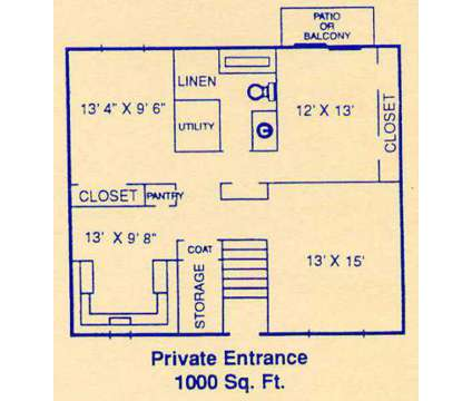 2 Beds - Clayton Apartments and Duplexes at 1407 N.w 65th in Kansas City MO is a Apartment