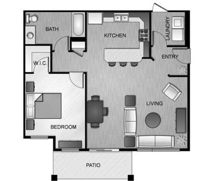 1 Bed - The Courtyards at River District at 21580 E Bitterroot Ln in Liberty Lake WA is a Apartment