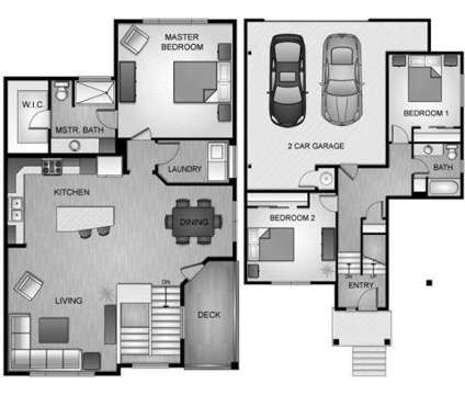 3 Beds - The Courtyards at River District at 21580 E Bitterroot Ln in Liberty Lake WA is a Apartment