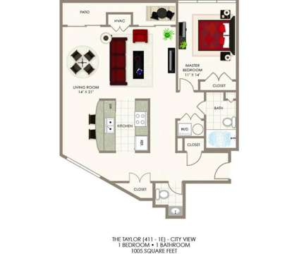 1 Bed - One Lytle Place Apartments at 621 E Mehring Way in Cincinnati OH is a Apartment