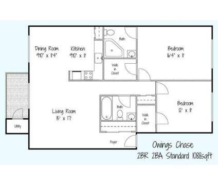 2 Beds - Owings Chase Apartments at 4607 Old Ct Road C in Pikesville MD is a Apartment