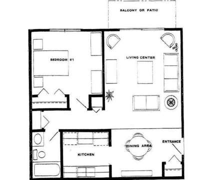 1 Bed - Brittany Parkside Apartments at 2565 S Calhoun Road in New Berlin WI is a Apartment