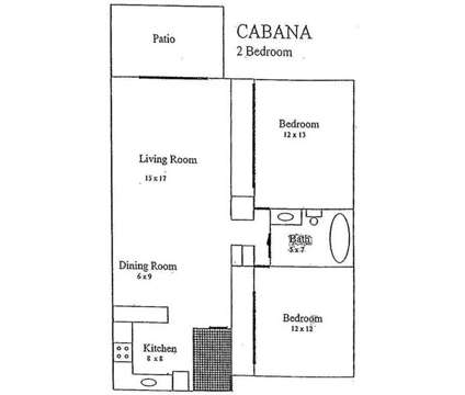 2 Beds - Cabana Royal Arms at 2044 Georgian Way in Lexington KY is a Apartment