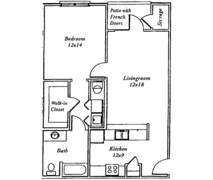 1 Bed - Princeton Terrace at 3312 Rehobeth Church Road in Greensboro NC is a Apartment