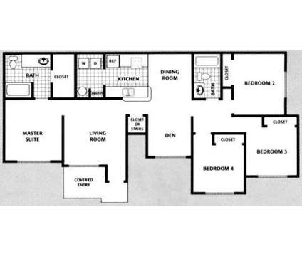 4 Beds - The Park at Dorchester at 2211 Grand Isle Dr in Brandon FL is a Apartment