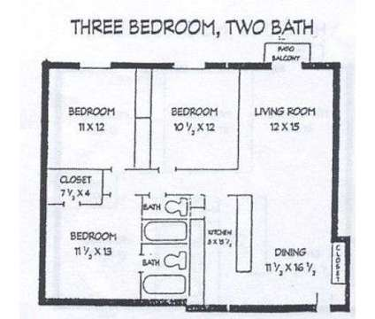 3 Beds - Cedar Creek Apartments at 4394 Okemos Rd in Okemos MI is a Apartment