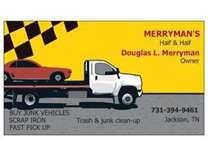 remove hauling scrap iron