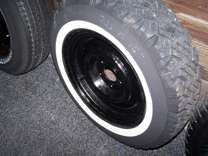 Radial Steel T Belted XTC P225/75R15 M&S 4 3/4 5 bolt pattern rim